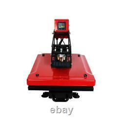 110V 16x20 Clamshell Auto Open T-shirt Heat Press Transfer Machine Vertical