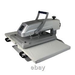 110V 16x20 Manual Dual Platen Sublimation Heat Press Machine for T-shirts Bag
