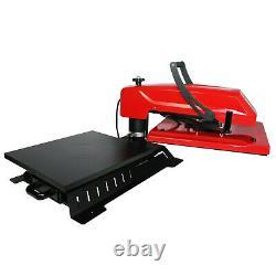 110V Upgraded 16x20 Swing Away Manual T-shirt Heat Press Machine Sublimation