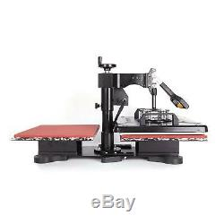 12X15 Double Station 360° Swing Away Heat Press Machine For T-Shirt Printer