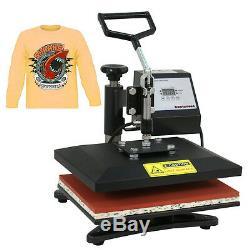 12 X 10 Digital Clamshell T SHIRT HEAT PRESS HEATPRESS TRANSFER MACHINE NEW