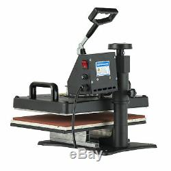 12''x15'' Heat Press Machine Swing Away Commercial Digital Sublimation T-shirt
