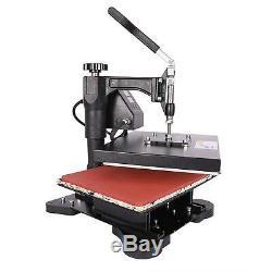 12 x 10 5 in 1 Combo T-Shirt Heat Press Machine Sublimation Swing Away