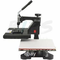 12 x 10 Heat Press Machine T Shirt Submilation Digital 360 Swing Away Transfer