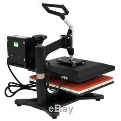 12x10 Combo T-Shirt Heat Press Transfer Machine Sublimation Swing Away Indoor