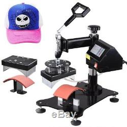 12x15 6in1 Digital Heat Press Machine T-Shirt Mug Cap Plate Transfer Sublimation