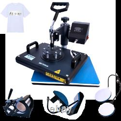 12x15 Combo 5in1 Heat Press Machine Sublimation T-Shirt Swing Away for Mug Hat