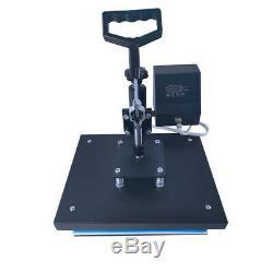 12x9 SWING AWAY Digital Heat Press Machine T-Shirts Sublimation DIY Transfer