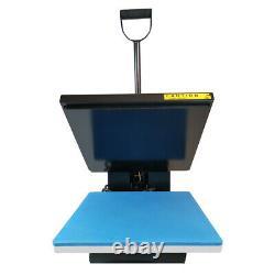 15X15Digital Clamshell Transfer Heat Press Machine Printing DIY Cotton T-shirt