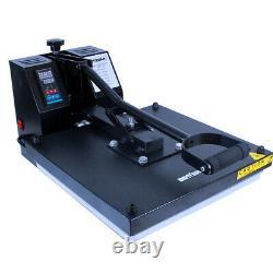 15X15Digital Clamshell Transfer Sublimation Heat Press Machine T shirt Press