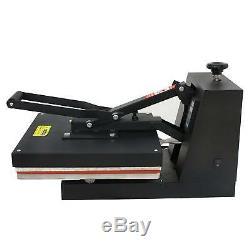 15X15 DIY Digital Clamshell T-shirt Heat Press Machine Sublimation Transfer