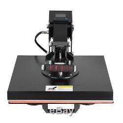 15X15 Digital T-shirt Heat Press Machine Sublimation Clamshell ransfer Teflon