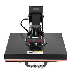 15 x 15 Digital Clamshell Heat Press Machine T-shirt Sublimation Transfer DIY