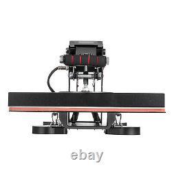15 x 15 Digital Clamshell Heat Press Transfer T-shirt Sublimation Machine DIY