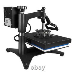 15x12 5in1 Combo T-Shirt Heat Press Transfer Machine Sublimation Swing Away US