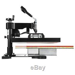 15x15 2IN1 Combo Heat Press Transfer Machine T-Shirt Cap Hat Sublimation