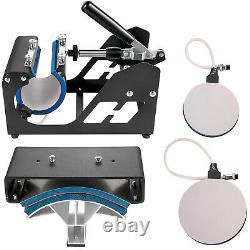 15x15 5IN1 Combo T-Shirt Heat Press Transfer Hat Multifunctional DIY Printer