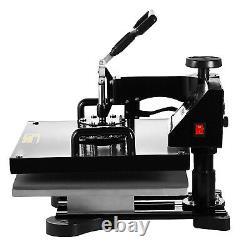15x15 5 IN 1 Combo T-Shirt Heat Press Transfer Machine Sublimation Swing Away