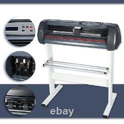 15x15 5in1 Heat Press + Vinyl Cutter Plotter 34 Graphics T-Shirt Sublimation
