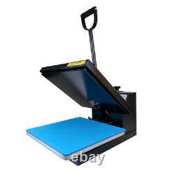 15x15 Clamshell Heat Press Machine DIY T-shirt Sublimation Digital Transfer US
