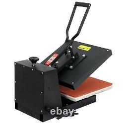 15x15 Digital LCD Clamshell Heat Press Transfer Sublimation Machine for T-Shirt