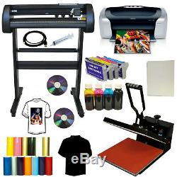 15x15 Heat Press 28 Laser Metal Vinyl Cutter Plotter Printer Refil KIt T-shirts