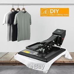 15x15 Inch Heat Press Machine Digital Transfer Sublimation DIY T-Shirt