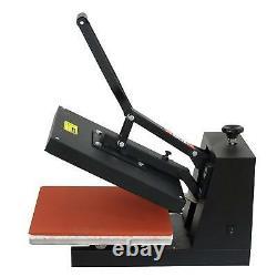 15x15 T-Shirt Heat Press Machine Transfer Kit Sublimation Digital Clamshell