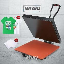 15x15in Professional T Shirt Press Clamshell Heat Press Machine for Bags 1000W