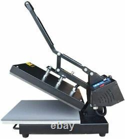16X24 Digital Sublimation Flat Heat Press Machine for T-shirt Transfer Printing