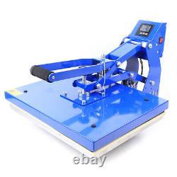 16 x 20 Auto Open Magnetic T-shirt Heat Press Machine Hot Sublimation Transfer