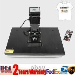 16 x 20 Clamshell Heat Press Machine DIY T-shirt Sublimation Digital Transfer