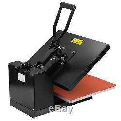 16 x 20 Digital Clamshell Heat Press Transfer Sublimation Machine T-shirts