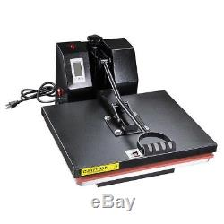 16x20 LCD Timer Temp Heat Press Machine Digital T-shirt Sublimation Transfer