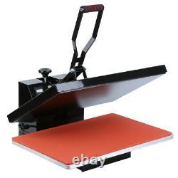 1800W Digital Clamshell Heat Press Transfer T-Shirt Machine 16x24