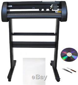 24 500g Vinyl Cutter Plotter, Sign, Decal, PU Vinyl, T-shirt Heat Press Transfer