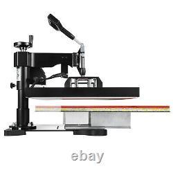 2IN1 Combo 15x15 T-Shirt Hat Heat Press Transfer Printing Machine Swing Away