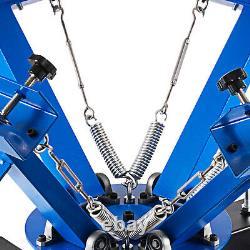 4 Color 1 Station Silk Screen Printing Machine T-Shirt Press Equipment DIY