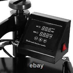 5IN1 15x15 Combo T-Shirt Heat Press Transfer Machine Sublimation Swing Away