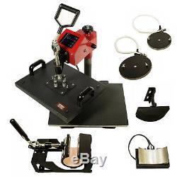 5 IN 1 Digital Heat Press Machine 11 x 15 Sublimation & Tshirt Heat Transfer