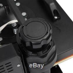5 In 1 15 x15 Digital Heat Press Machine Sublimation for T-Shirt Mug Plate Hat