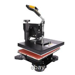 5 in 1 12 x 10 T Shirt Heat Press Machine for Mug Hat Plate Cap Mouse Pad