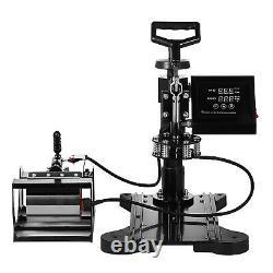 5 in 1 15x15 T-Shirt Heat Press Machine Transfer Printer Sublimation Mug Hat
