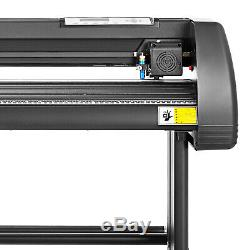 5 in 1 Heat Press 12x15 Vinyl Cutter Plotter Cutting 28 T-Shirt Printing Usb