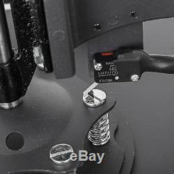 5 in 1 Heat Press Machine 15X15 Transfer Sublimation T-Shirt Cap Swing-away