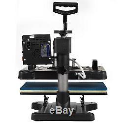 5 in 1 T-Shirt Heat Press Machine Latte Mug Coaster Cup Sublimation Printing