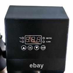 5in1 Combo 15x12 Heat Press Machine Sublimation Transfer T-Shirt Mug Plate Hat