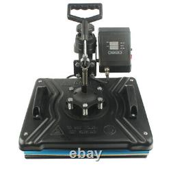 5in1 Digital 15X12 Heat Press Transfer Machine Sublimation T-Shirt Cap Mug