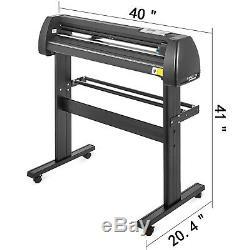 5in1 Heat Press 12x15 Vinyl Cutter Plotter 34 Cut Device T-Shirt Usb Port