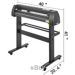 5in1 Heat Press 15x15 Vinyl Cutter Plotter 34 Graphics T-Shirt Sublimation